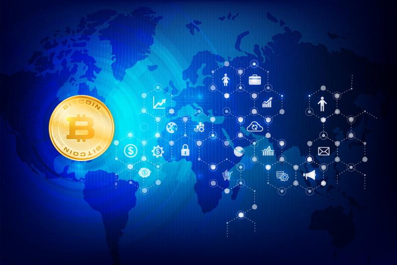 世界中で使われるビットコイン